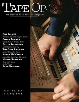 Tape Op Magazine | Longform candid interviews with music