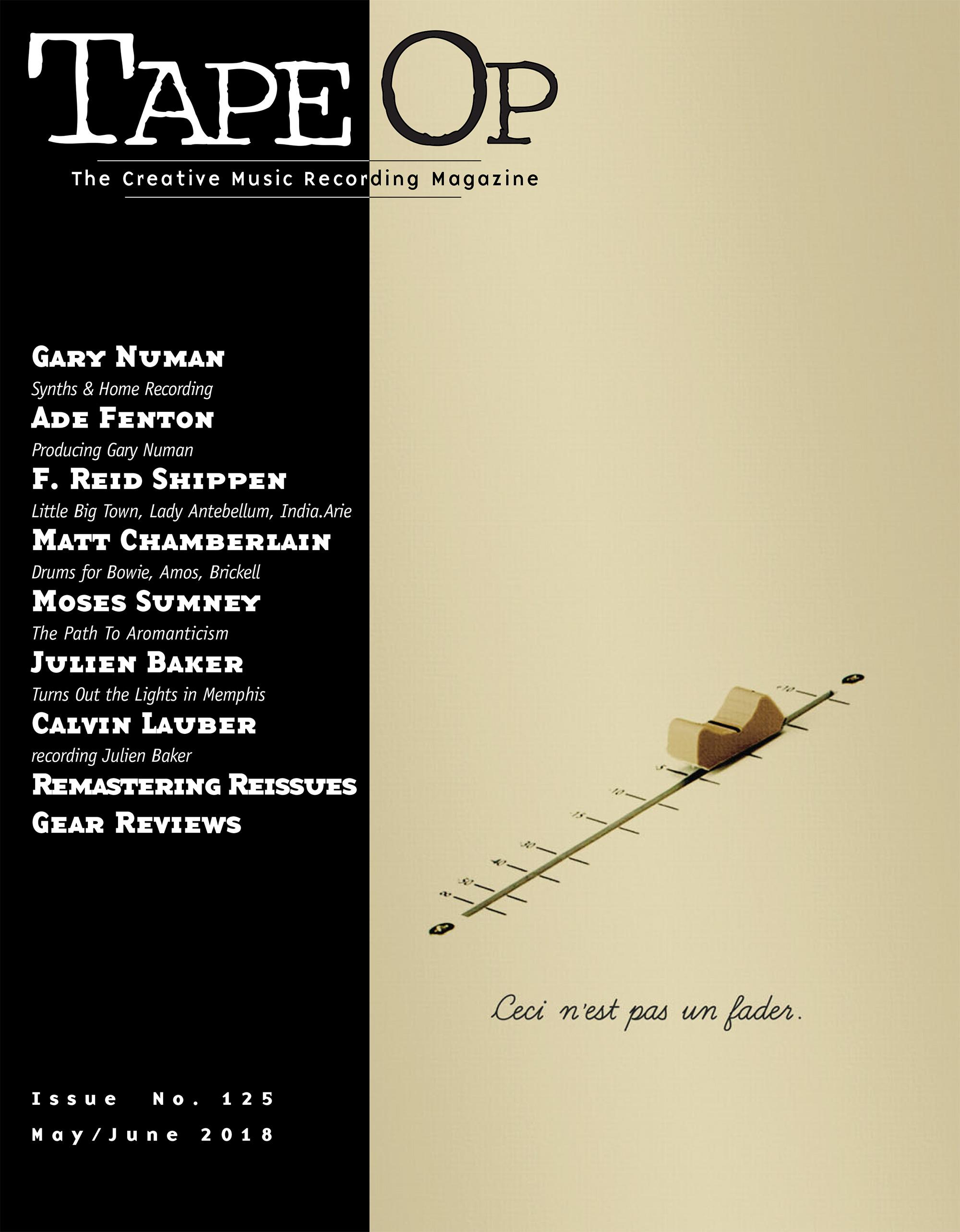 Read Tape Op #125 | Tape Op Magazine | Longform candid
