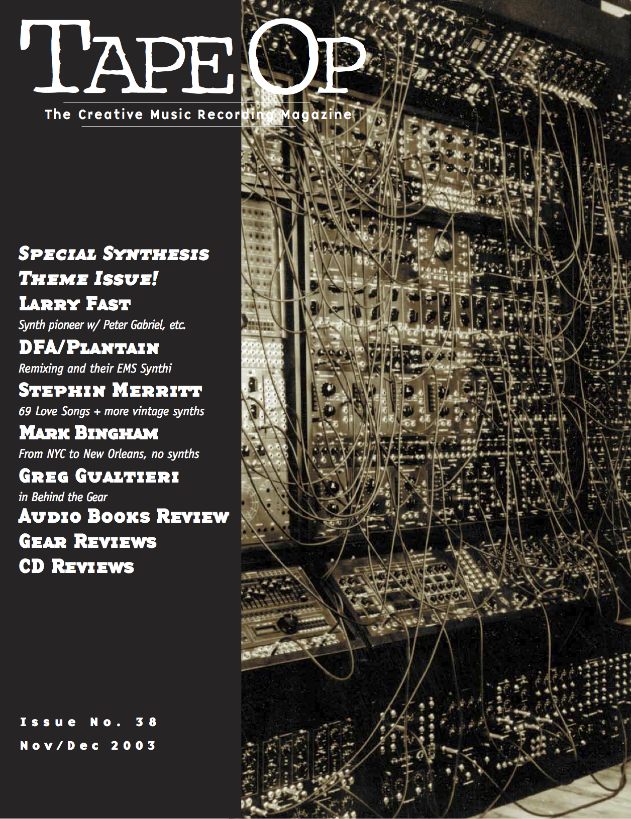 Issue No. 38