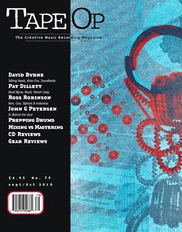 Read Tape Op #79 | Tape Op Magazine | Longform candid interviews