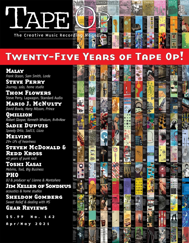 Tape Op Turns 25!