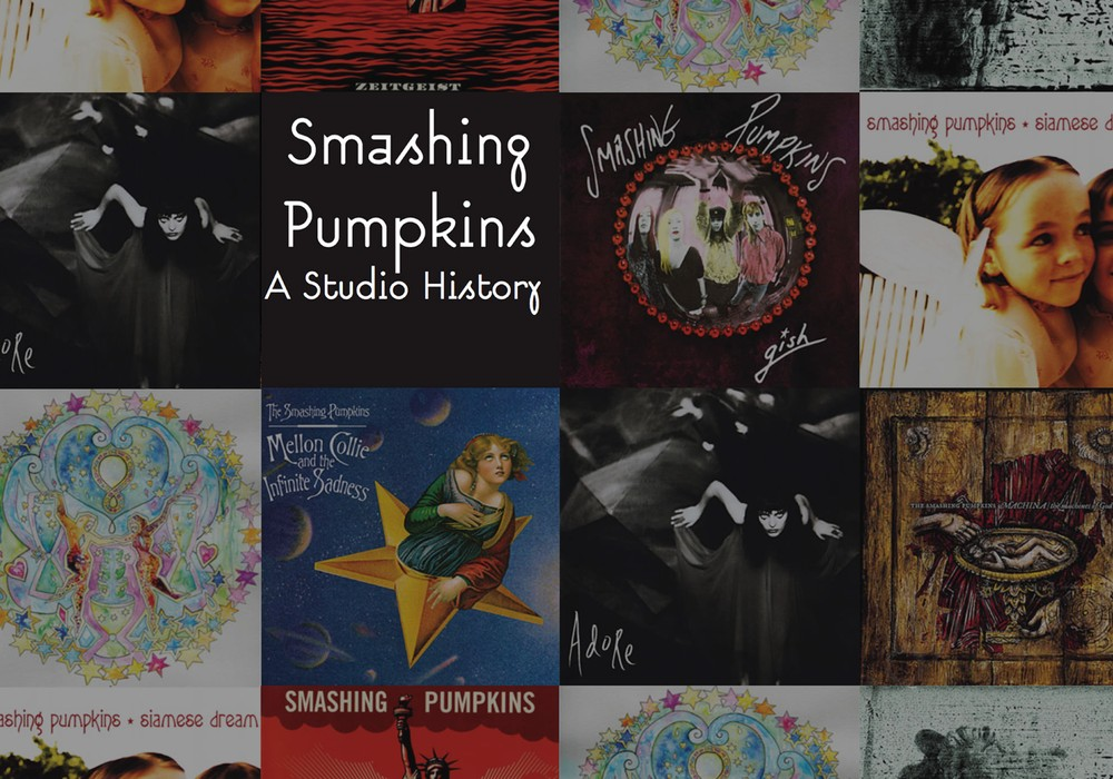 Smashing Pumpkins: A studio history with Billy Corgan, Flood, Jimmy Chamberlin, Butch Vig, Alan Moulder, and Tommy Lee