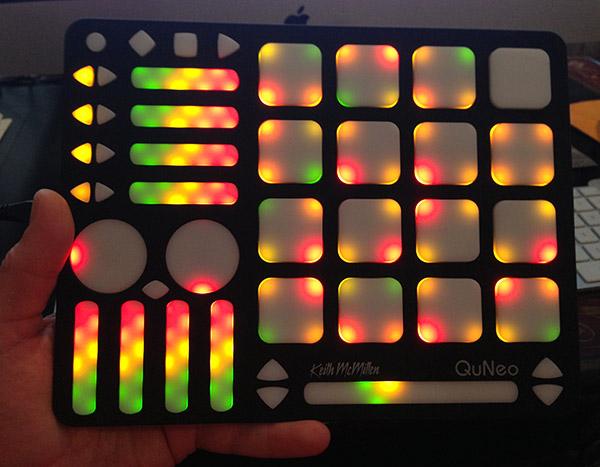 KMI QuNeo 3D Multi Touch Pad Controller [Gear Review ...