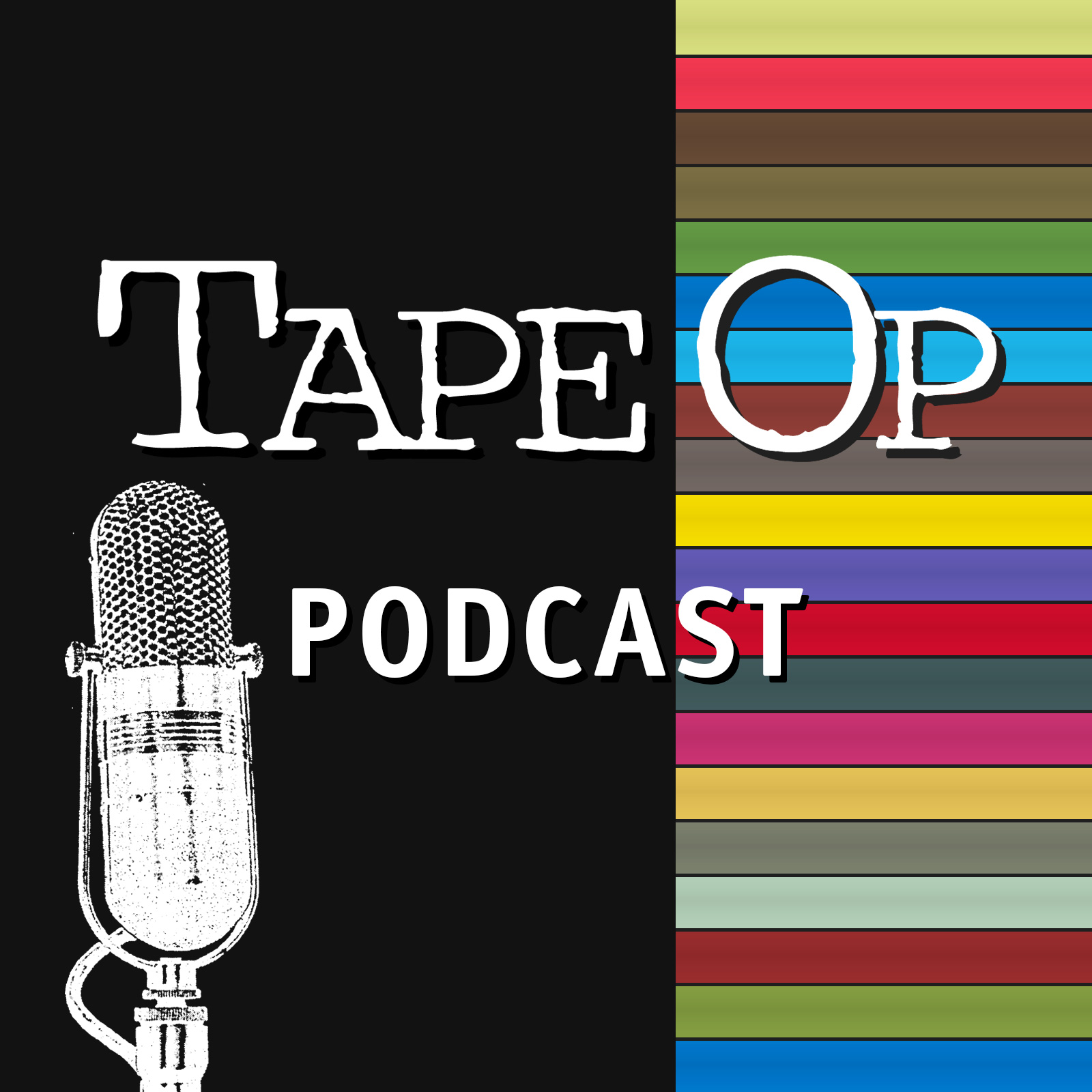 Listen to Tape Op Podcast: Episode 20: Tucker Martine